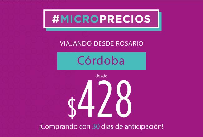 Microprecios Córdoba