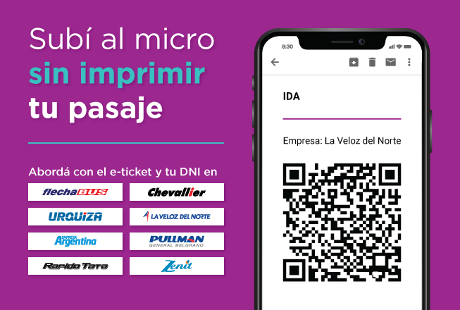 Banner e-ticket